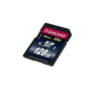 Transcend 128 GB Memory Card For Cameras - TS128GSDXC10