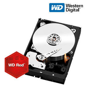"WD Red NAS Internal Sata 3.5"" 256MB Cache Hard Drive"