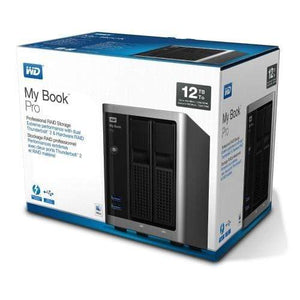 WD 12TB My Book Pro RAID Thunderbolt USB 3.0 Storage