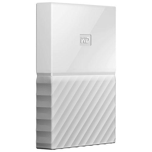 WD 1TB My Passport  Portable External Hard Drive - White