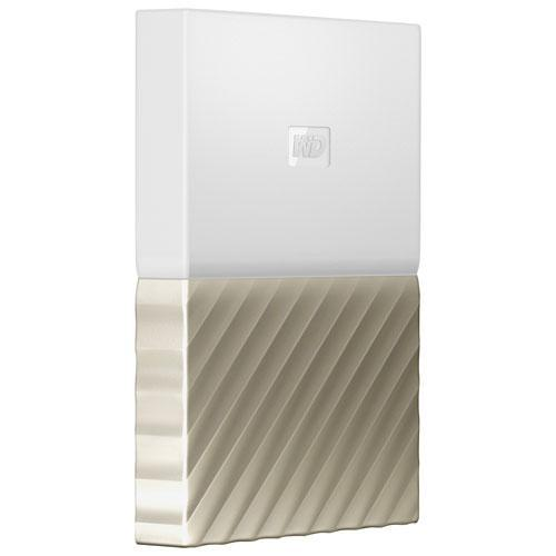 WD 1TB My Passport Ultra Portable External Hard Drive - Gold