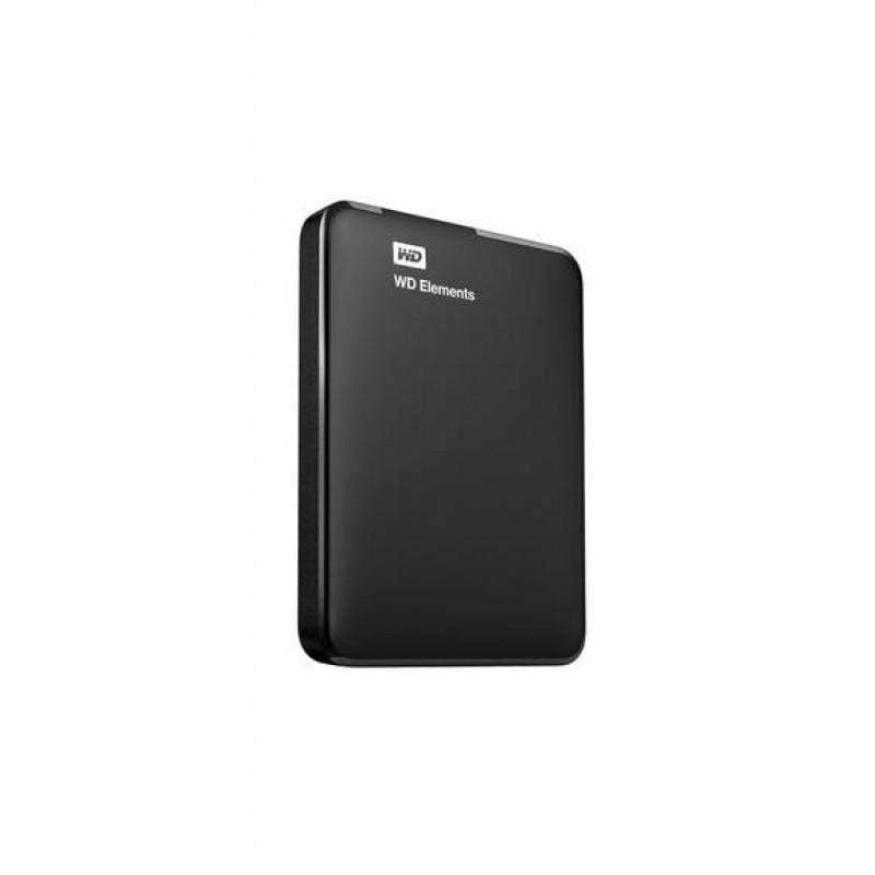 WD 2TB Elements Portable External Hard Drive USB 3.0 - Black