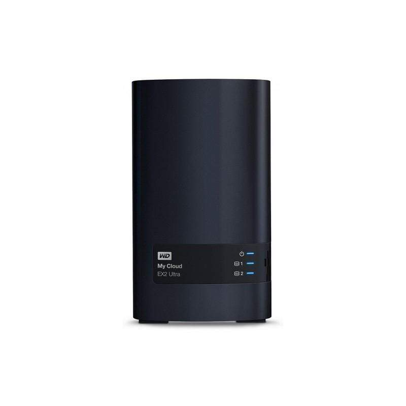 WD 8TB My Cloud EX2 Ultra NAS Storage - WDBVBZ0080JCH