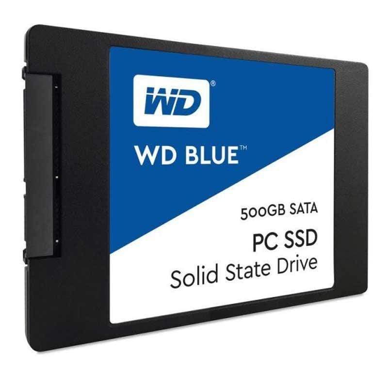 "WD Blue 500GB 3D NAND SATA III 6Gb/s 2.5"" 7mm Internal SSD"