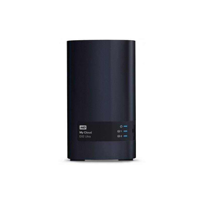 WD Diskless My Cloud EX2 Ultra Network Attached Storage - NAS