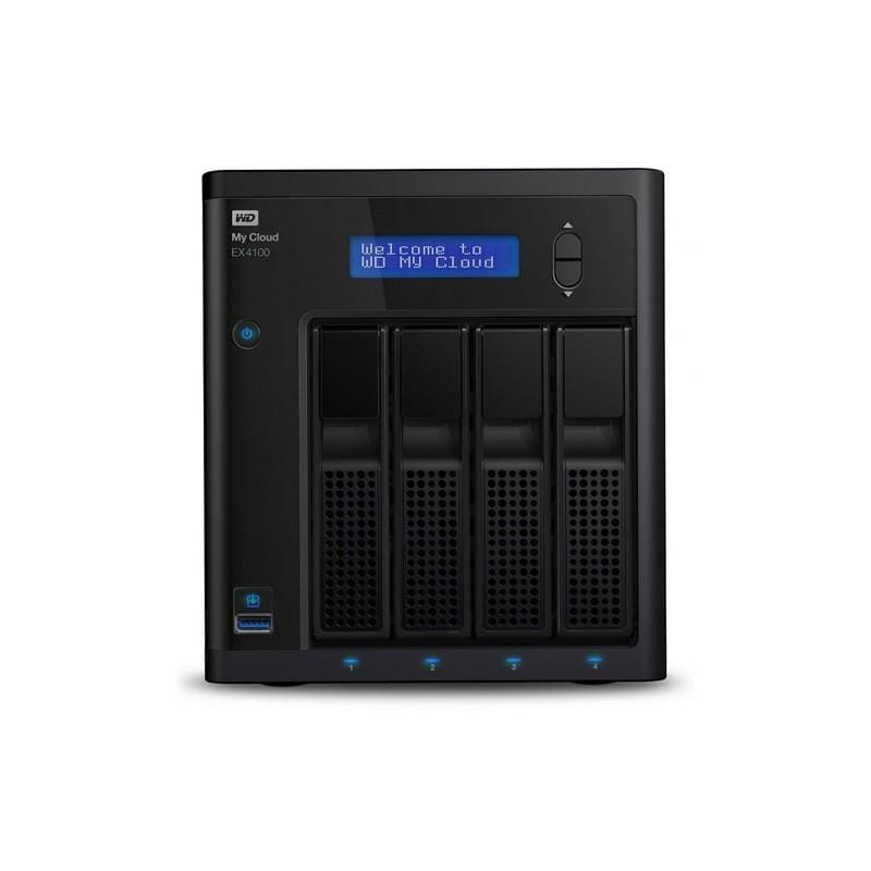 WD My Cloud Expert Series 24 TB 4-Bay Pre-Configured NAS with Dual Core Processor