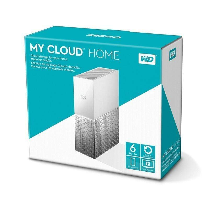 WD My Cloud Home 6TB Network Attached Storage