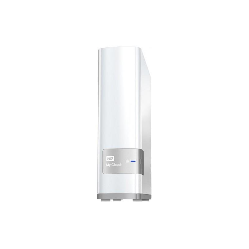 Western Digital 3 TB Mycloud External Network HardDrive - White
