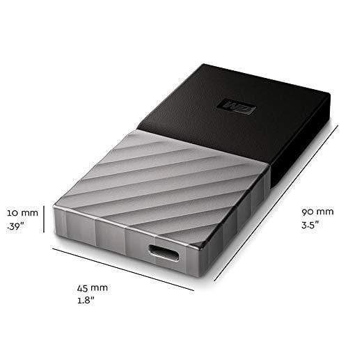 Western Digital 512GB My Passport SSD External Drive