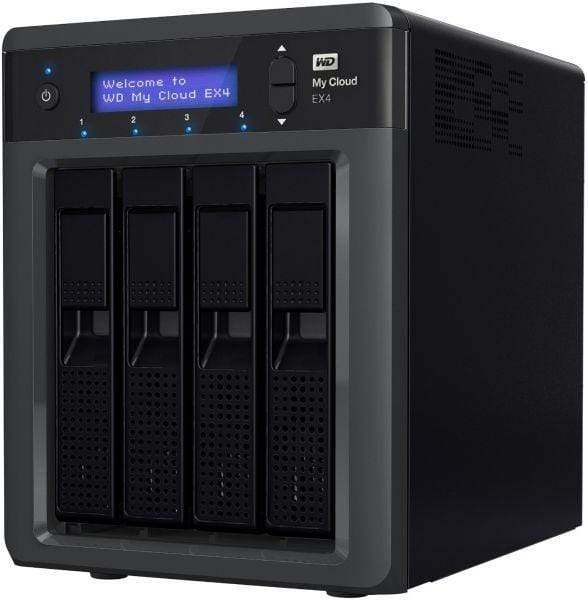 Western Digital My Cloud EX4 4 Bay NAS Diskless [WDBWWD0000NBK-EESN]