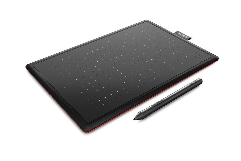 One by Wacom CTL-472 Small Tablet with pressure-sensitive, cordless