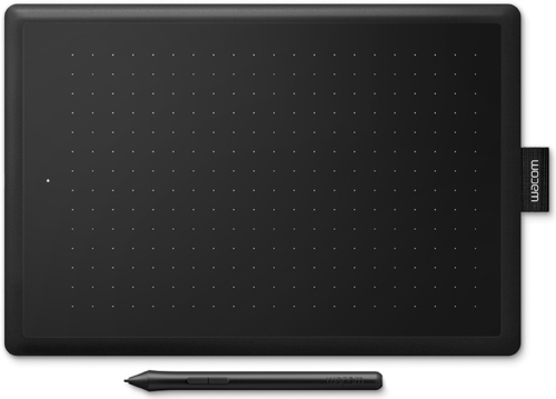 One By Wacom Digital Graphic Drawing Tablet Pad, Medium-CTL-672N
