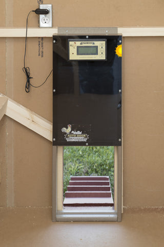 Advanced Automatic Coop Door - with Sun Mode™ FREE SHIPPING - coopmaster