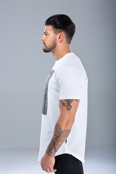 Renaissance T-Shirt White / Red