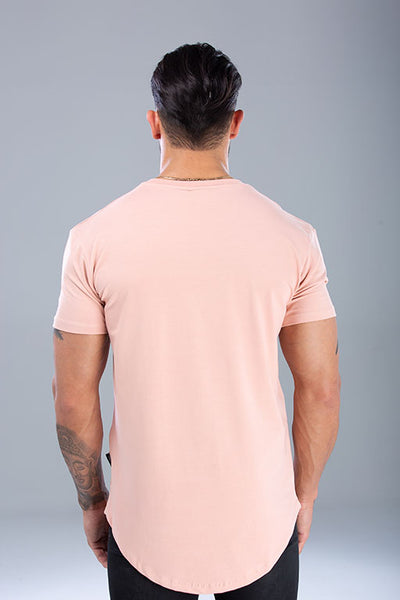 Statement T-Shirt Dust Pink / White