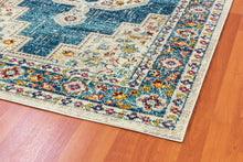 Load image into Gallery viewer, Zodiac 6620-159 Blue/Multicolored Area Rug
