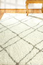 Load image into Gallery viewer, Nordic 7431-100 Ivory/Grey Area Rug