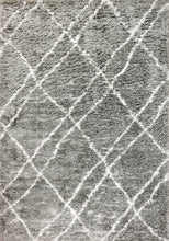 Load image into Gallery viewer, Nordic 7431-900 Silver/White Area Rug