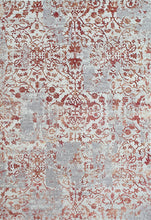 Load image into Gallery viewer, Quartz 25010-130 Ivory/Red Area Rug