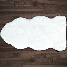 Load image into Gallery viewer, Shape Shag 4400-100 White Shag Rug