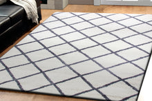 Load image into Gallery viewer, Velvet 5920-109 Grey/Ivory Shag Rug