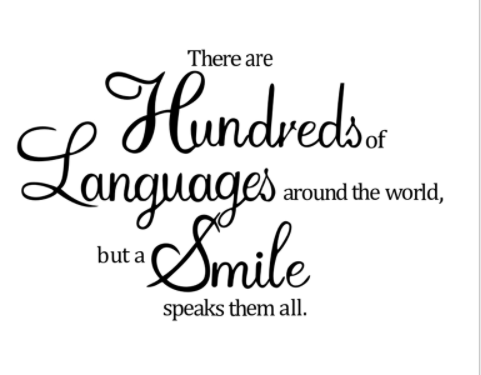"""There Are Hundreds Of Languages"" Wall Decal"