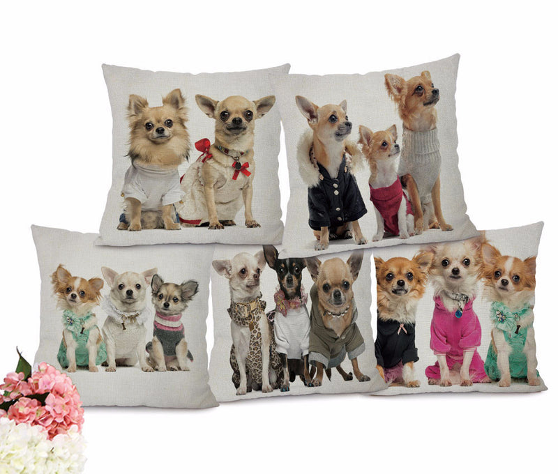Adorable Puppy Pillow Covers