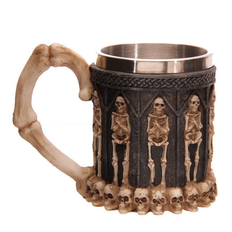Skeletons & Skulls Drinking Mug