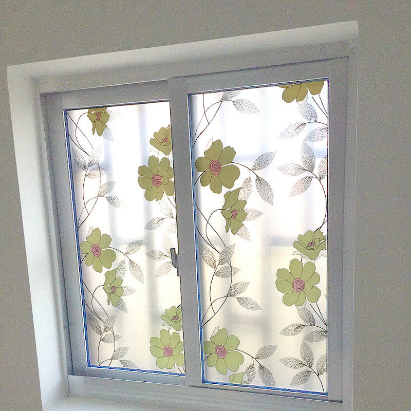 """Wrought Iron"" Frosted Window Film"