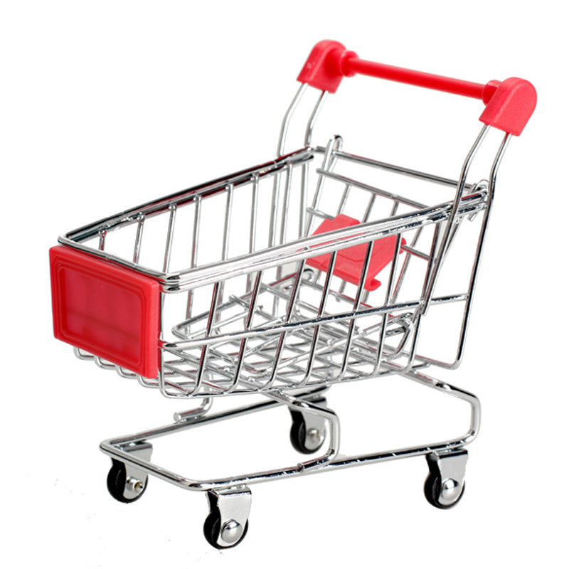 Mini Supermarket Shopping Cart