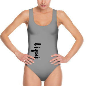 LiquiScoopback Swimsuit Grey