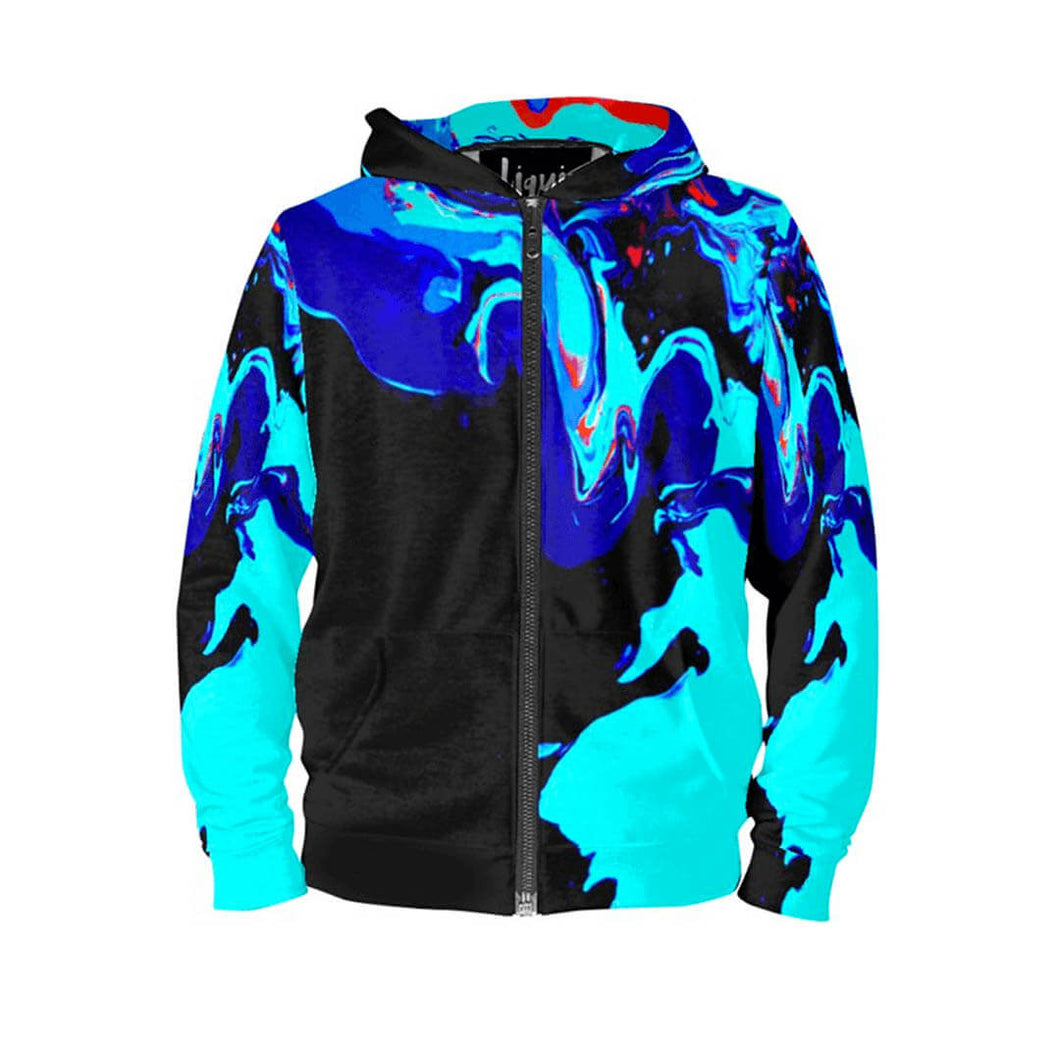 LiquiHoodie Womens Zippered Opparine - LiquiBrand