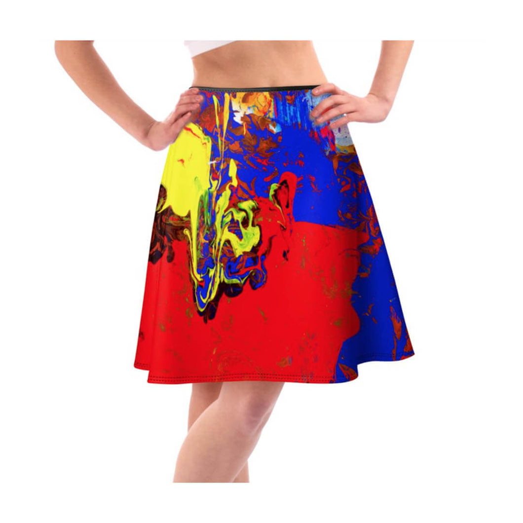 LiquiFlared Skirt Riossa