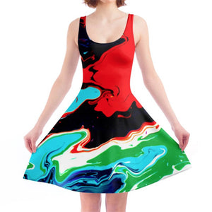 LiquiSkater Dress Cosmic