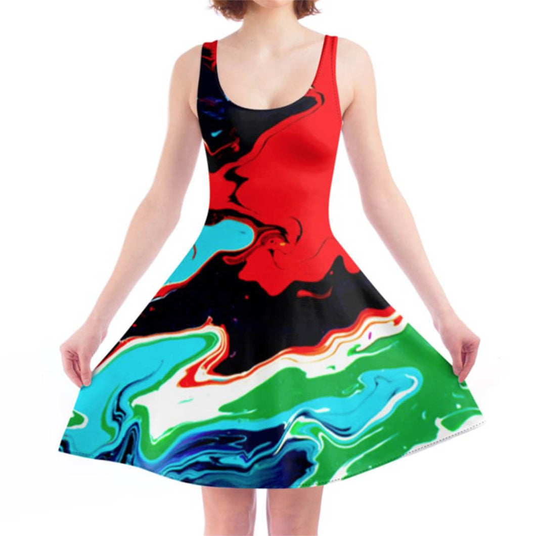LiquiSkater Dress Cosmic - LiquiBrand