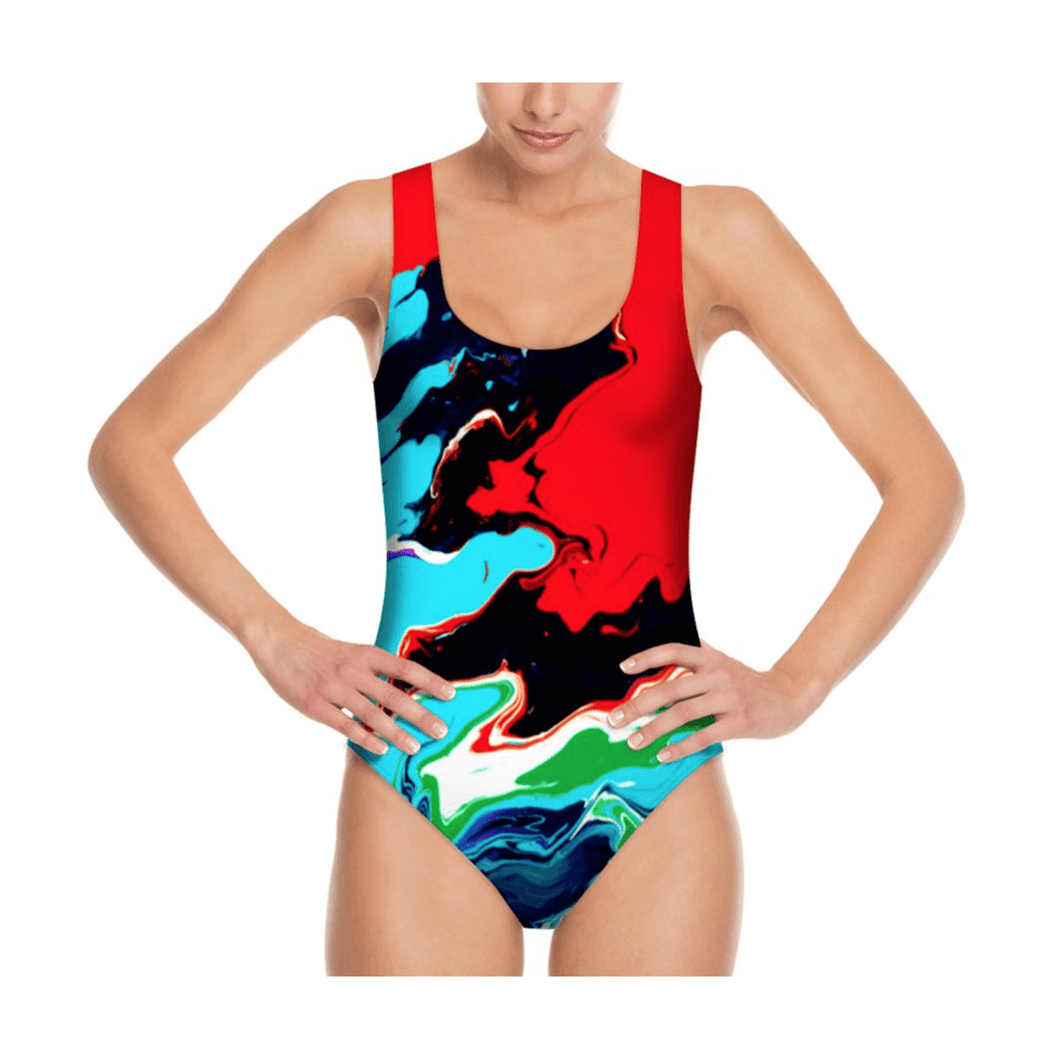LiquiScoopback Swimsuit Cosmic