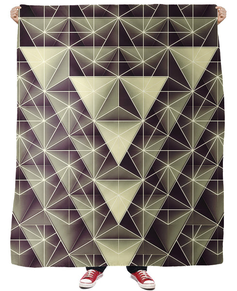 Isometry Fleece Blanket