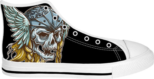 Viking Skull High Tops