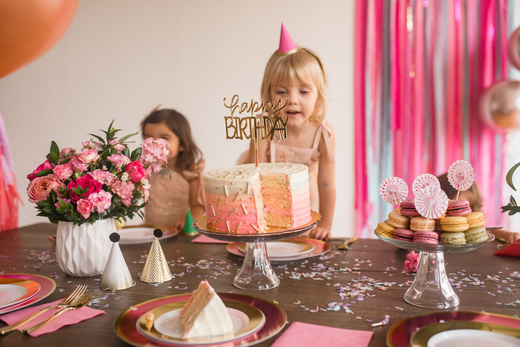 Pink Fairy Birthday Party