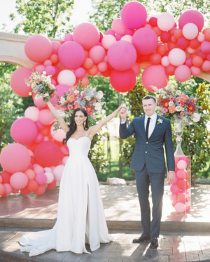 How To Style A Wedding With Balloons