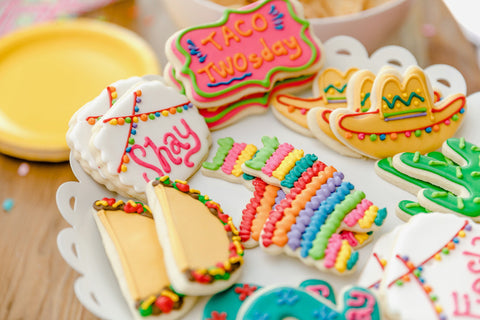 Fiesta-Themed Cookies