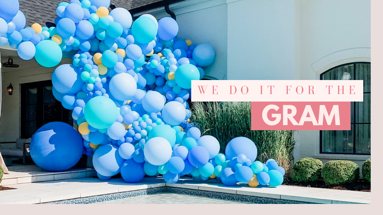 Modern Party Decor & Balloon Sets  Make your event Insta