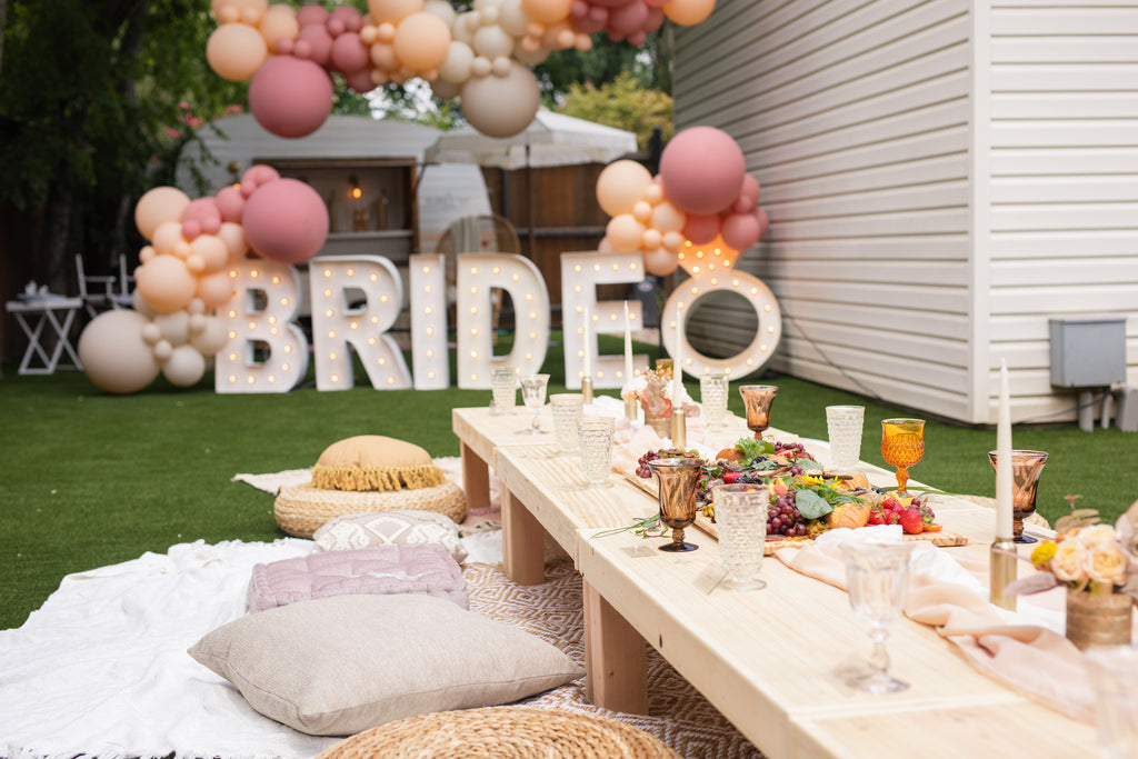 Bridal Shower Styling Party With Lushra