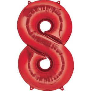"Jumbo Number ""8"" Balloon"
