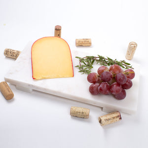 White Marble Small Cheese Board