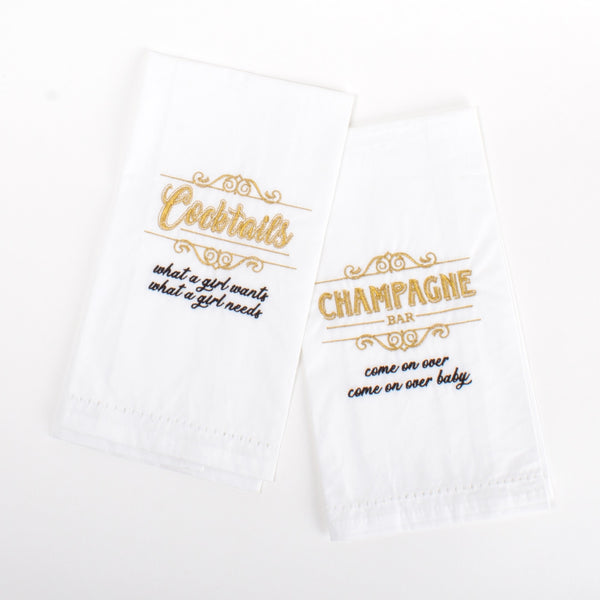 90's Bar Towels - Set of 2