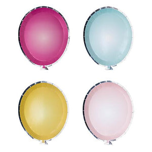 Balloon Plates, Mixed