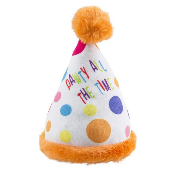 Birthday Pawty Hat Dog Toy