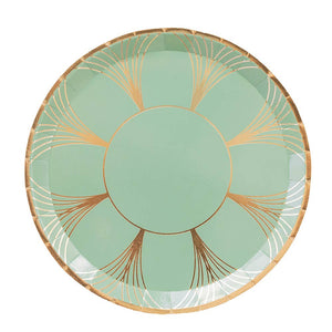 The Gatz Dinner Plates, Green