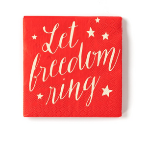 Let Freedom Ring Napkins